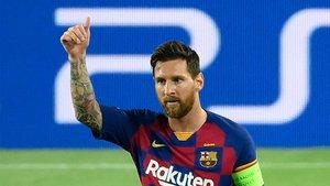 El VAR anula un gol de Messi