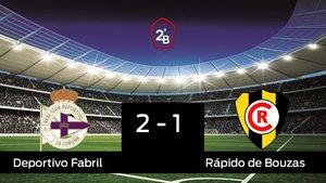 Victoria 2-1 del Deportivo Fabril ante el Rápido de Bouzas