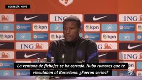 Wijnaldum: No estuve cerca de fichar por el Barça, no era muy serio