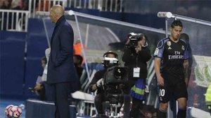 Zidane no cuenta con James Rodríguez