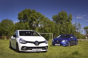 Renault Clio RS Trophy Energy 220 EDC y Renault Mégane GT 205 4Control: Adaptados al medio