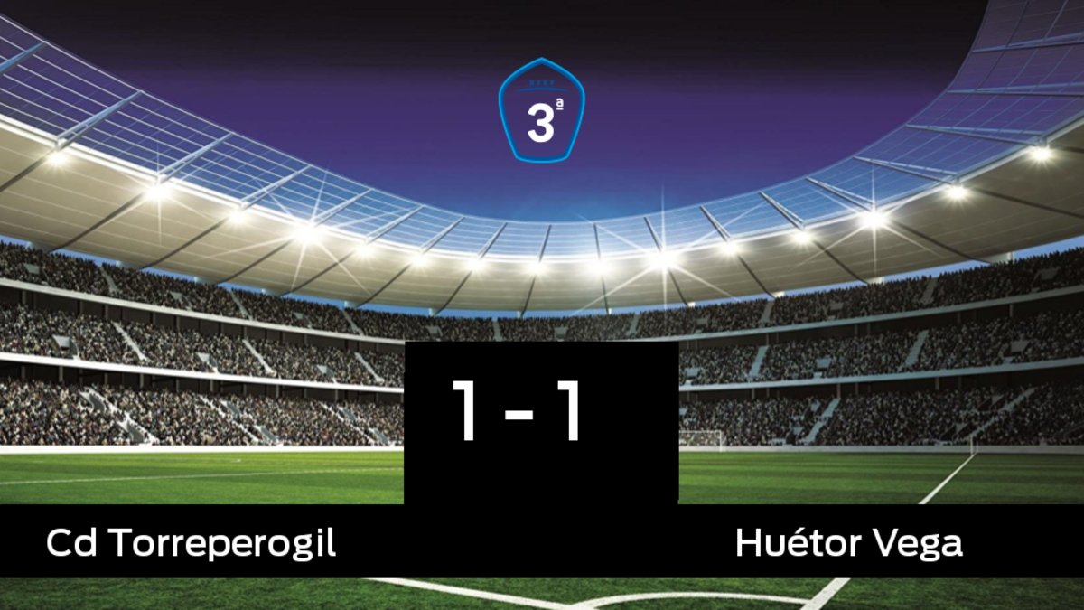 El Torreperogil y el Huétor Vega se repartieron los puntos tras un empate a uno