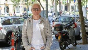 Villeneuve, este martes en Barcelona