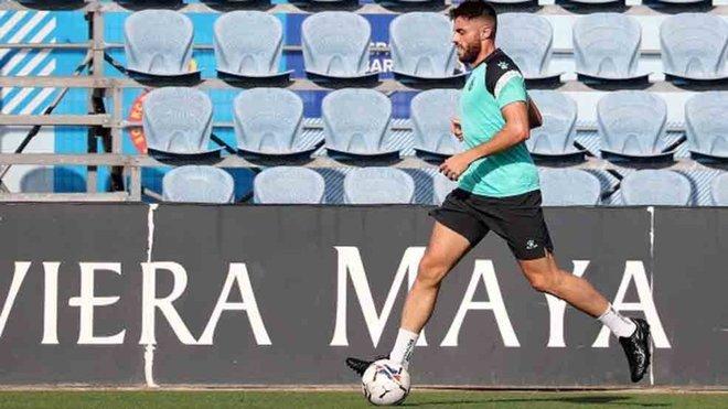 El Espanyol se ejercita de forma individualizada