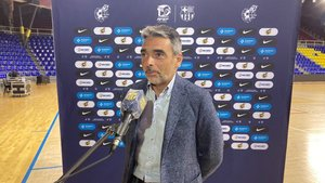 Albert Soler mostró plena confianza en el equipo pese al empate ante el Zaragoza