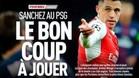 Alexis Sánchez, protagonista en la portada de L'Equipe