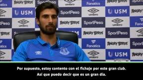 André Gomes: Seré el mejor jugador que pueda ser