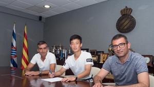 Aokai Zhang, nuevo jugador del juvenil A del Espanyol