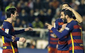 Arda Turan marcó su primer gol en Vallecas