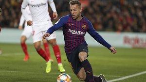 Arthur Melo será una baja sensible en el Barça durante cuatro semanas
