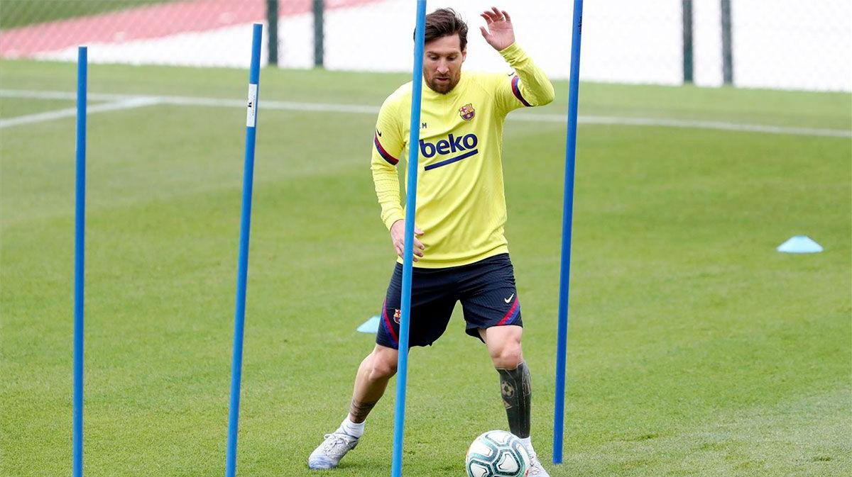 Así ha sido la segunda sesión de entrenamiento del Barça tras el parón