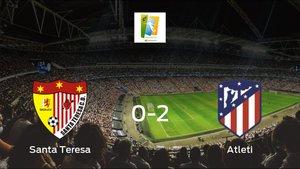 El Atlético de Madrid Femenino se impone al Santa Teresa Badajoz y consigue los tres puntos (0-2)