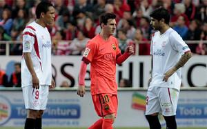 El Barça acabó dejando escapar un 0-2 favorable en Sevilla