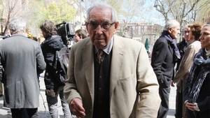 El barcelonismo se volcó en el adiós al expresidente Agustí Montal Costa