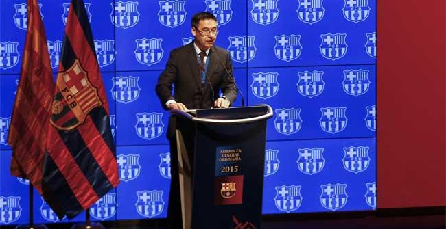 Bartomeu se mostró implacable con la UEFA