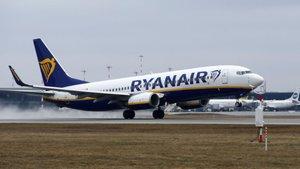 Borrasca Gloria: el espectacular intento de aterrizaje de un Boeing 737