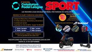 Catalunya Padel League. Las mejores ligas sociales de pádel por parejas de Catalunya (ES)
