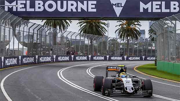 El circuito de Albert Park del GP de Australia de F1 (ES)