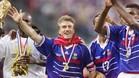 Deschamps fue titular indiscutible para Francia en el Mundial de 1998