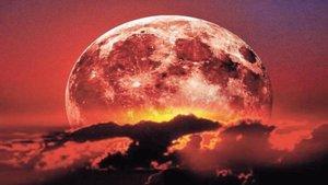 Dónde y cuando ver el eclipse lunar, superluna y luna de sangre