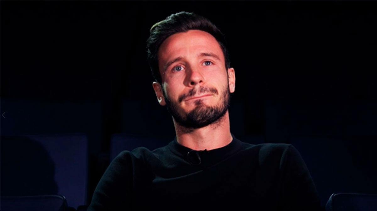 La emoción de Saúl con este emotivo vídeo por sus 300 partidos con el Atlético