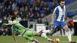 El Espanyol cayó contra el Betis (1-3) en la jornada 16 de LaLiga