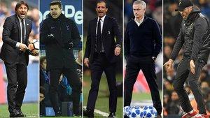 Estos son los posibles candidatos para ocupar el banquillo del Real Madrid