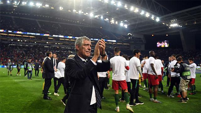 Fernando Santos, satisfecho el título de la Nations League