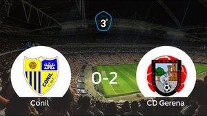 El Gerena consigue los tres puntos tras derrotar 0-2 al Conil