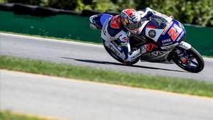 Di Giannantonio, el más rápido de la matinal de Moto3