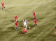 La imagen de Messi solo ante nueve rivales