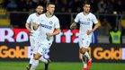 El Inter derrotó al Frosinone para acomodarse en el tercer puesto de la Serie A