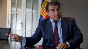Joan Laporta fue protagonista involuntario de un incidente en Barcelona