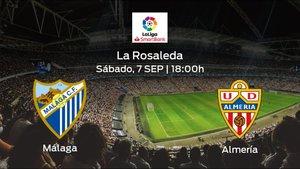 Jornada 4 de la Segunda División: previa del duelo Málaga - Almería