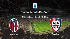 Jornada 29 de la Serie A: previa del encuentro Bolonia - Cagliari