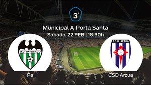 Jornada 25 de la Tercera División: previa del duelo Paiosaco-Hierros - CSD Arzua