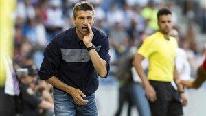 José Luis Martí, durante su etapa como técnico del Tenerife