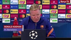 Koeman: El rendimiento de Messi puede ser mejor