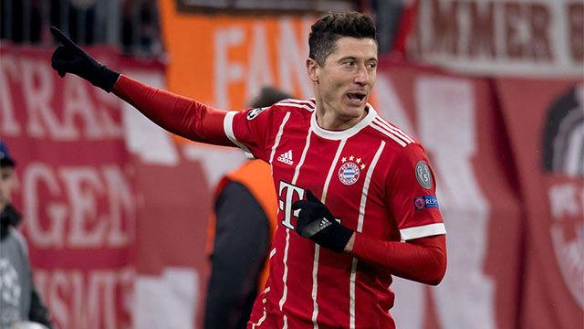 LACHAMPIONS | Bayern - Besiktas (5-0): Doblete de Lewandowski