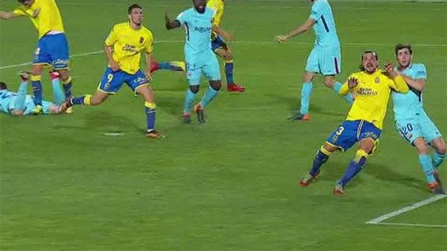LALIGA | Las Palmas - Barcelona (1-1): Las Palmas empató de penalti