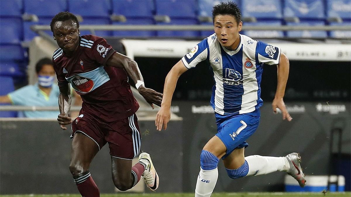 Wu Lei explica por qué se queda en el Espanyol