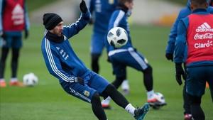 Leo Messi es la principal atracción de la selección argentina en Manchester