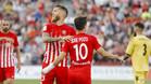 Morcillo marcó el gol que dio la permanencia al Almería
