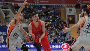 Nando de Colo pone punto y final a su etapa en el CSKA