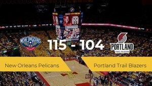 New Orleans Pelicans se impone por 115-104 frente a Portland Trail Blazers