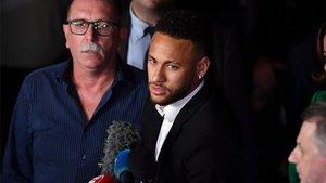 Neymar Junior y Teisa habrían llegado a un acuerdo