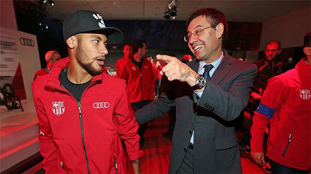 Neymar quiere normalizar relaciones con el Barça