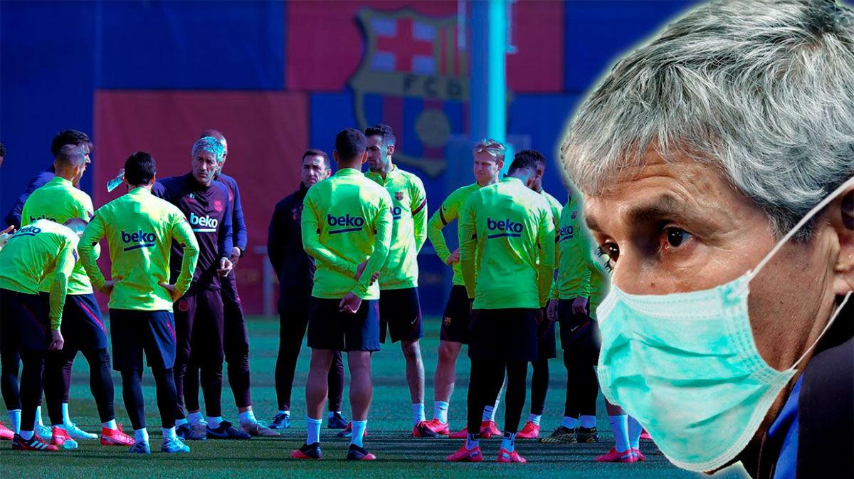 La nueva normalidad de Setién: su pretemporada en el Barça