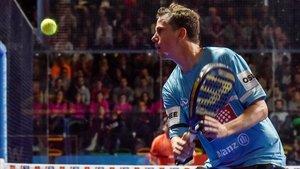 Paquito Navarro, durante un torneo anterior.