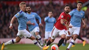 Partido entre Manchster United y Manchester City
